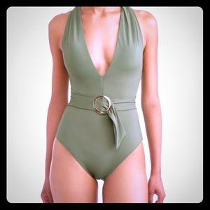 Other - Bay Leaf Green Swim Monokini